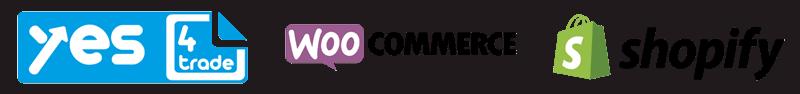 E-Commerce Agentur für Shopsysteme wie yes4trade, WooCommerce und Shopify.