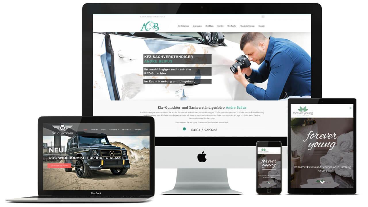 Ihre Werbeagentur aus Hamburg für Responsive Webdesign
